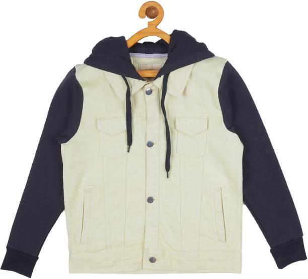 instafab Full Sleeve Solid Girls Jacket