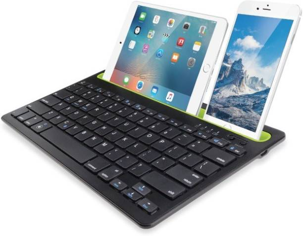 iGear BK100 Dual Connect Bluetooth Wireless Keyboard for iOS/Android/Windows Devices Bluetooth Tablet Keyboard