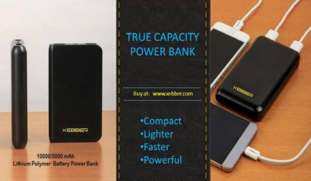 XEBBER 5000 mAh Power Bank