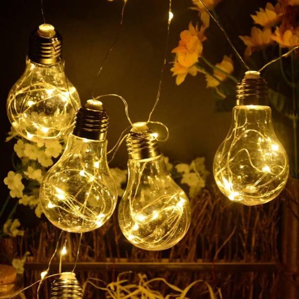 MANSAA 137 inch Yellow Rice Lights