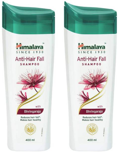 HIMALAYA Anti Hair Fall Shampoo Reduce Hair Fall makes Hair Healthy 400ml Each