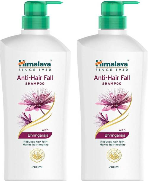 HIMALAYA Anti Hair Fall Shampoo Reduce Hair Fall makes Hair Healthy 700ml Each