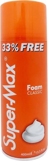Super Max Classic Shaving Foam