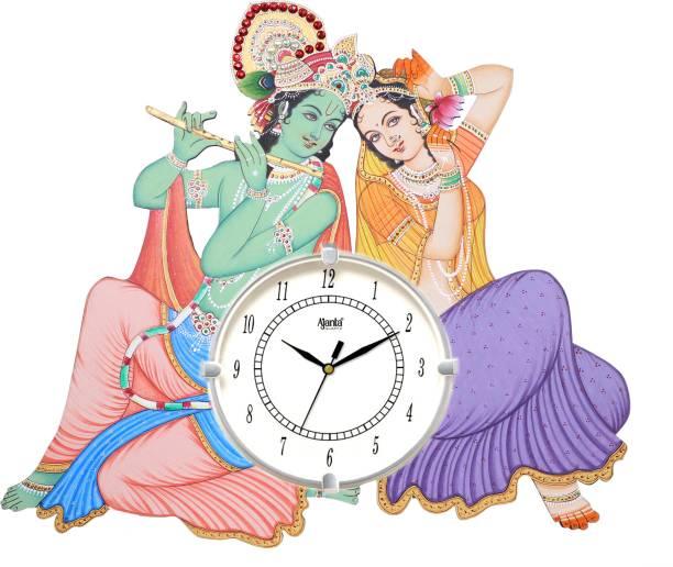 AJANTA Analog 33 cm X 40 cm Wall Clock