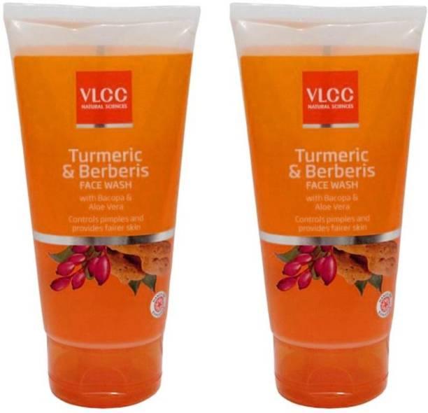 VLCC Original Turmeric & Berberis  (Pack of 2 * 150 ML) Face Wash