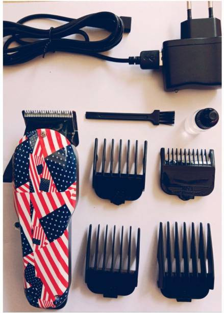 Allura Kemei KM 830 Adjustable professional Rechargeable hair clipper with four attachment  Runtime: 120 min Trimmer for Men & Women