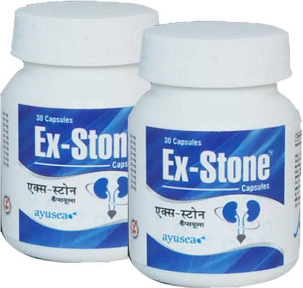EX-STONE Ayurvedic kidney stone crusher capsules