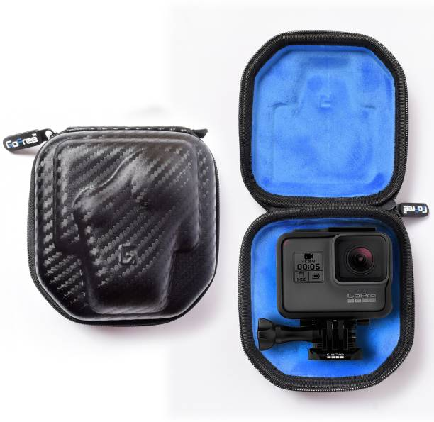 GoFree Compact Action Camera Case - Rigid Shell & Shock Proof Case  Camera Bag