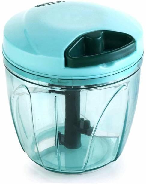 kich world Vegetable Chopper, Cutter, Mixer Set (900ML, Purple) Vegetable & Fruit Chopper