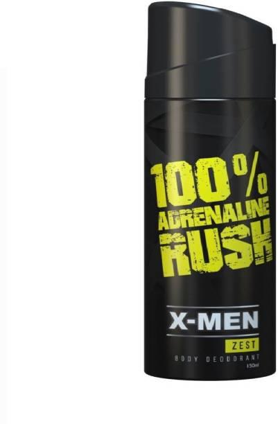 X-Men Zest Body Deodorant Body Spray  -  For Men