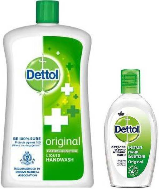 Dettol Liquid Soap Jar - orignal 900mlWith Pocket  50ml Hand Wash Bottle
