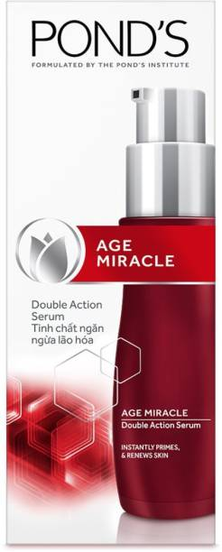 PONDS Double Action Serum, Instantly Primes & Renews Skin