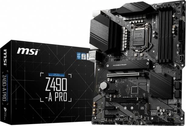 msi Z490-A PRO ATX LGA 1200 Gaming Motherboard