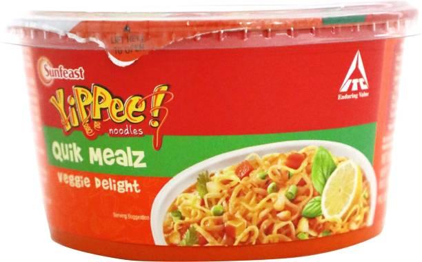 Sunfeast YiPPee! Quik Mealz Veggie Delight Instant Noodles Vegetarian