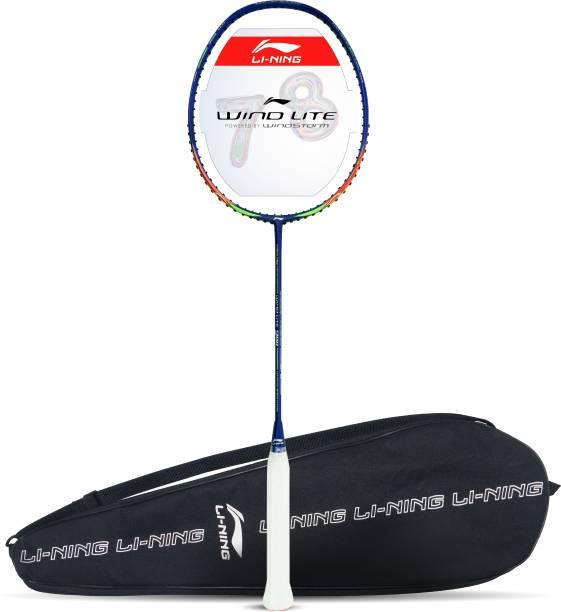 LI-NING Wind Lite 900 Blue, Red Strung Badminton Racquet