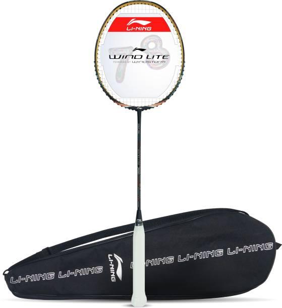 LI-NING Wind Lite 700 Purple, Orange Strung Badminton Racquet