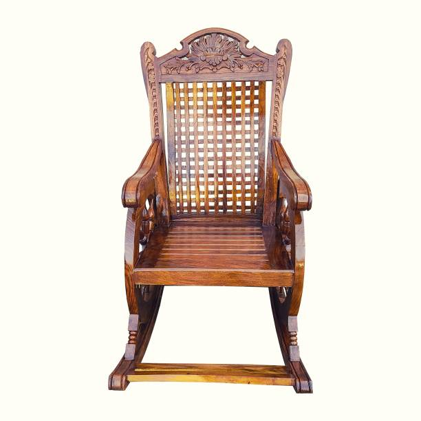 CRUZ INTERNATIONAL Solid Wood 1 Seater Rocking Chairs