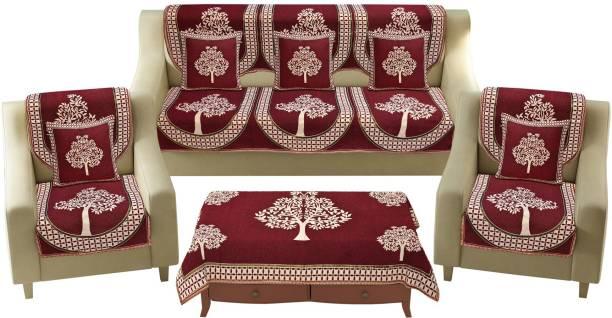 hargunz Cotton, Jacquard Sofa Cover
