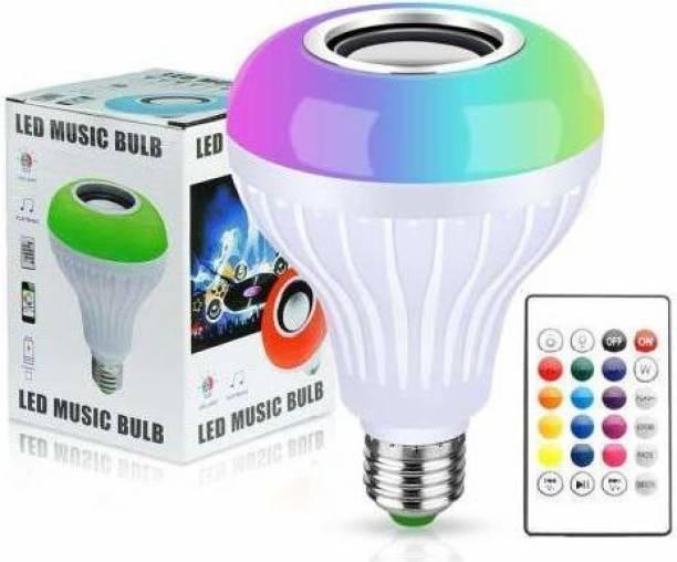 hpsp Dalco Multi Color Changing RBG Led Music Light Bulb||Bluetooth Music Bulb||Led For Party Home Decoration||Night Light Smart Bulb