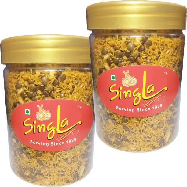 Singla Dal Biji namkeen Healthy snacks Combo (Pack of 2 * 200, 400g)