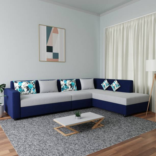 Flipkart Perfect Homes Sofia Fabric 6 Seater  Sofa