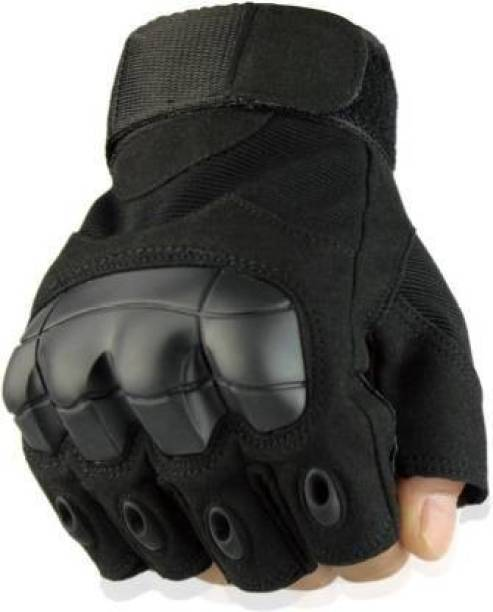 zaysoo Half Finger Tactical Gloves Military Army Shooting Hunting Gym & Fitness Gloves