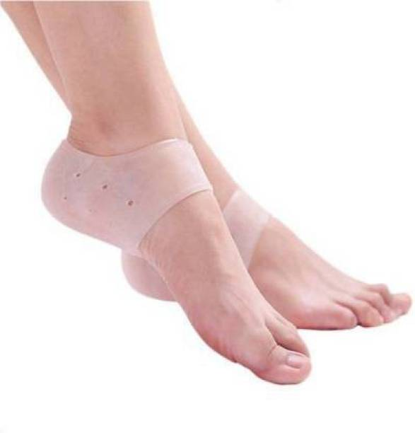 Clickfly Gel Heel Socks for Heel Swelling, Pain Relief, Dry Hard Cracked Heel Repair Cream Heel Support