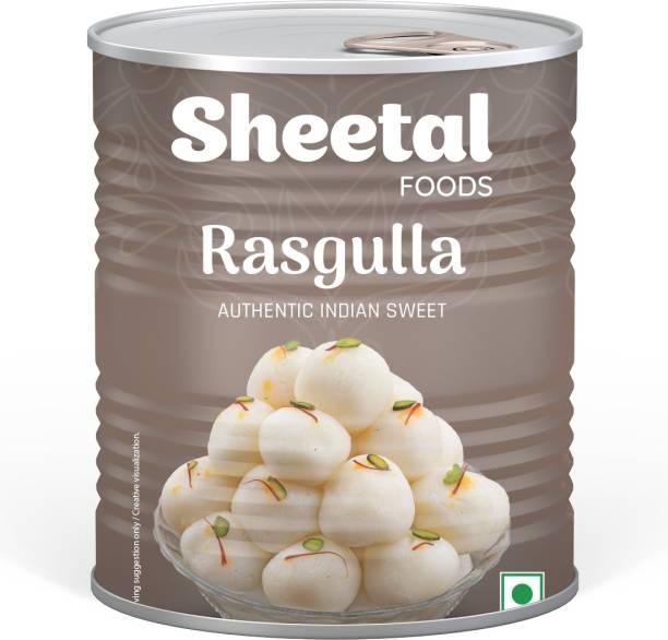 SHEETAL FOODS Rasgulla Tin