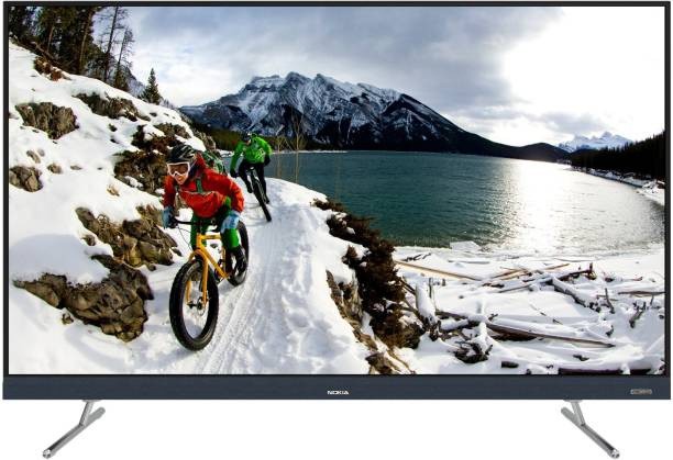 Nokia 164 cm (65 inch) Ultra HD (4K) LED Smart Android TV with Sound by Onkyo