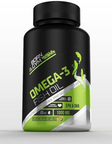 Muscle Science Omega 3 Fish Oil 1000mg