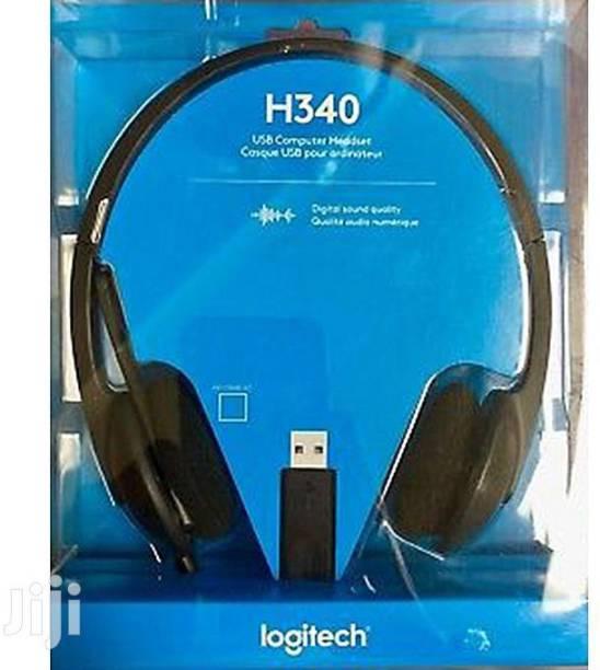 Logitech H340 USB HEADSET Wired Headset