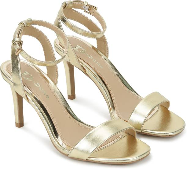 Dune London Women Gold Heels