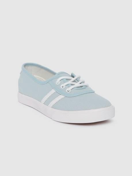 MAST & HARBOUR Mast Harbour Women Blue Solid Sneakers Sneakers For Women