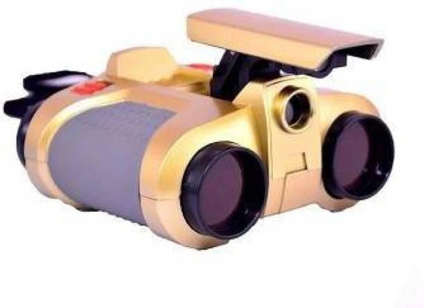 DsentSports Night Scope Binocular with Pop up Lights Binoculars for kids Binoculars (4 mm , Multicolor) Binoculars