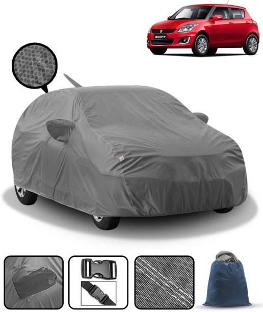 FABTEC Car Cover For Maruti Suzuki Swift (With Mirror Pockets)