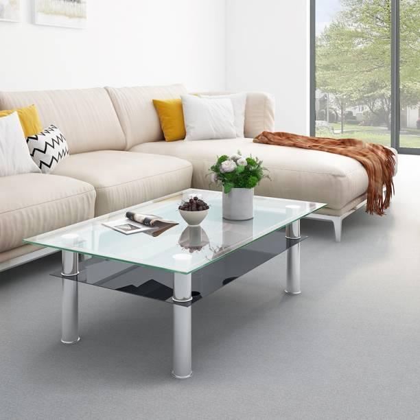 Flipkart Perfect Homes Cluedo Glass Coffee Table