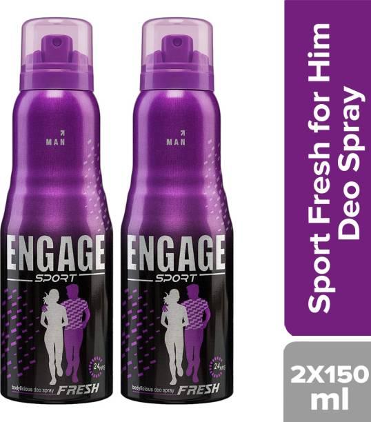 Engage Sport Fresh Deodorant for Him Deodorant Spray - For Men(150 ml) Deodorant Spray  -  For Men