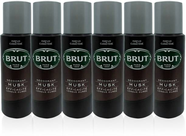 BRUT Musk Deodorant(PO6) Deodorant Spray  -  For Men