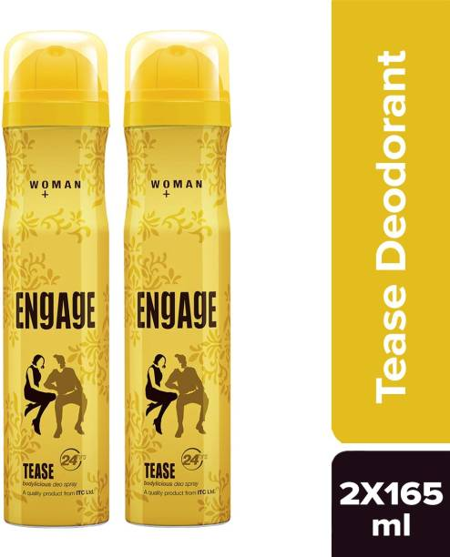 ENgAgE Tease Deodorant Spray - For Women(150 ml) Deodorant Spray  -  For Women