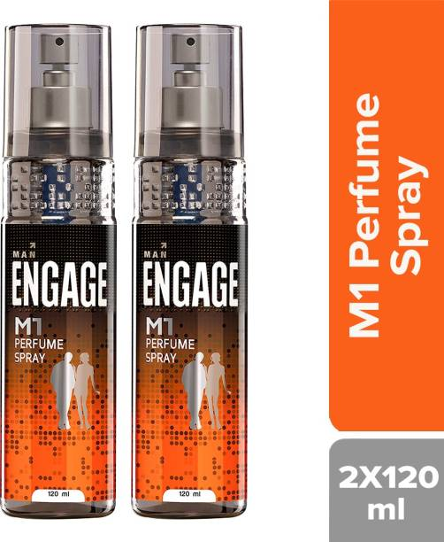 Engage M1 Perfume Body Spray - For Men(120 ml) Perfume Body Spray  -  For Men