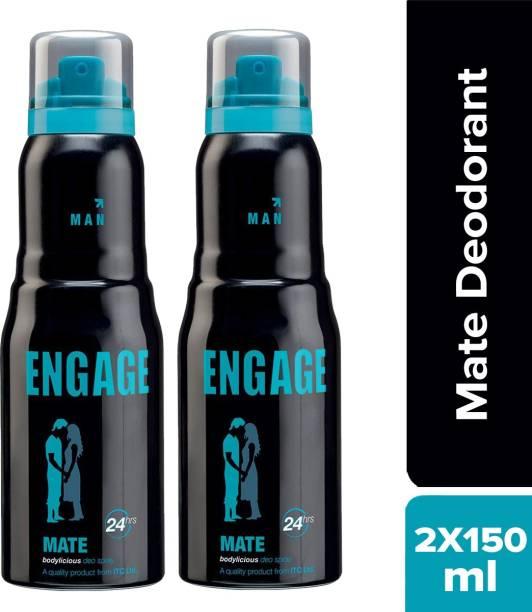 Engage Mate Deodorant Spray - For Men(150 ml) Deodorant Spray  -  For Men