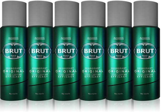 BRUT Original Deodorant(PO6) Deodorant Spray  -  For Men
