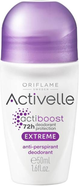 Oriflame Activelle Actiboost Extreme Anti-perspirant Roll-on Deodorant 72 hour protection (50 ml) Deodorant Roll-on  -  For Men & Women