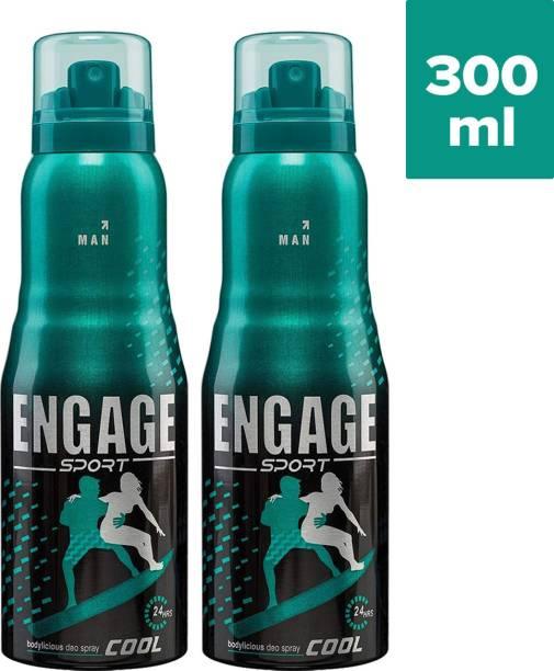 ENgAgE Sport Cool Deodorant for Him Deodorant Spray - For Men(150 ml) Deodorant Spray  -  For Men