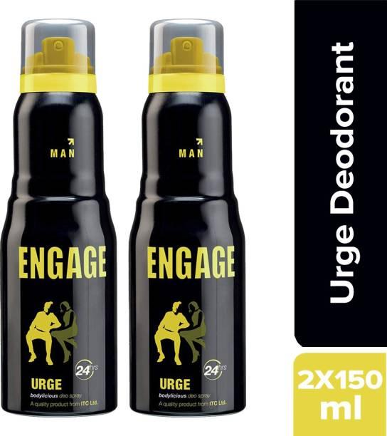 Engage Urge Deodorant Spray - For Men(150 ml) Deodorant Spray  -  For Men