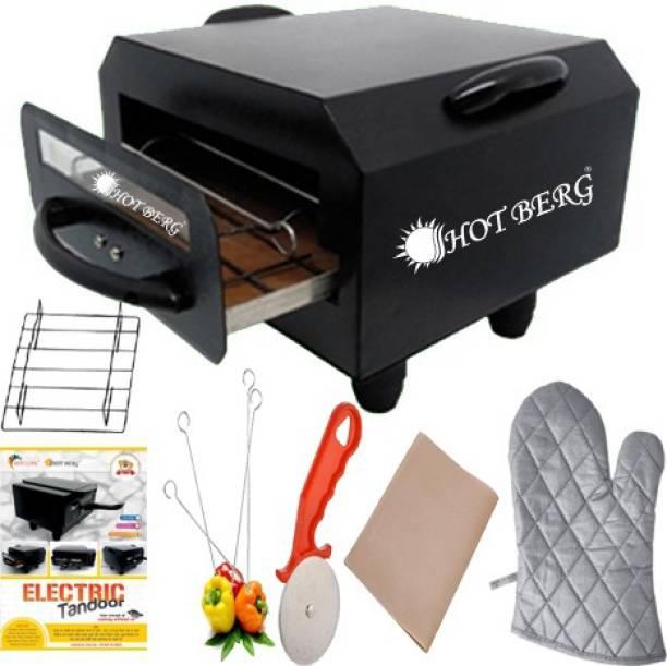 HOT BERG Small Electric Tandoor SMET-5689 with accessories (Black) Electric Tandoor