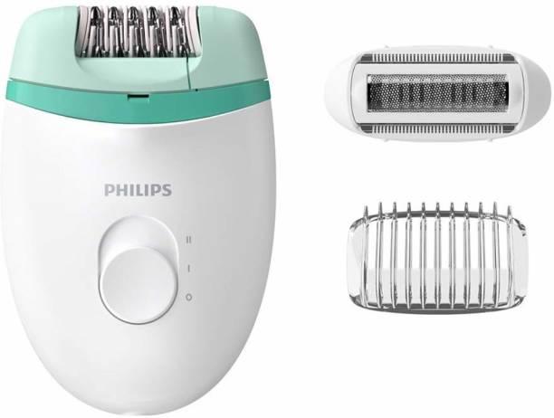 PHILIPS EPILATOR FOR WOMEN BRE245 WET & DRY Corded Epilator