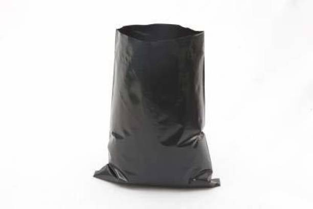 VAYINATO UV Protected Nursery Plastic Poly Grow Bag for Gardening (Black) 4 inch * 6 inch (Pack of 100) Grow Bag