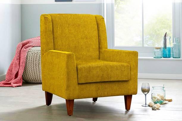 Febonic KALEEM Engineered Wood Living Room Chair
