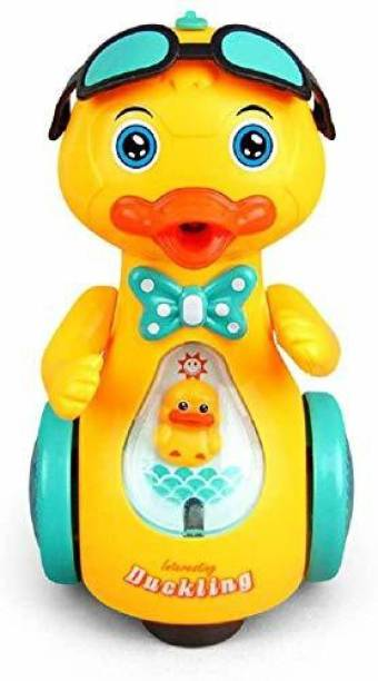 Smartcraft Musical Walking Duck, Duck Baby Toys for Boys & Girls Age 1-2- Multicolor